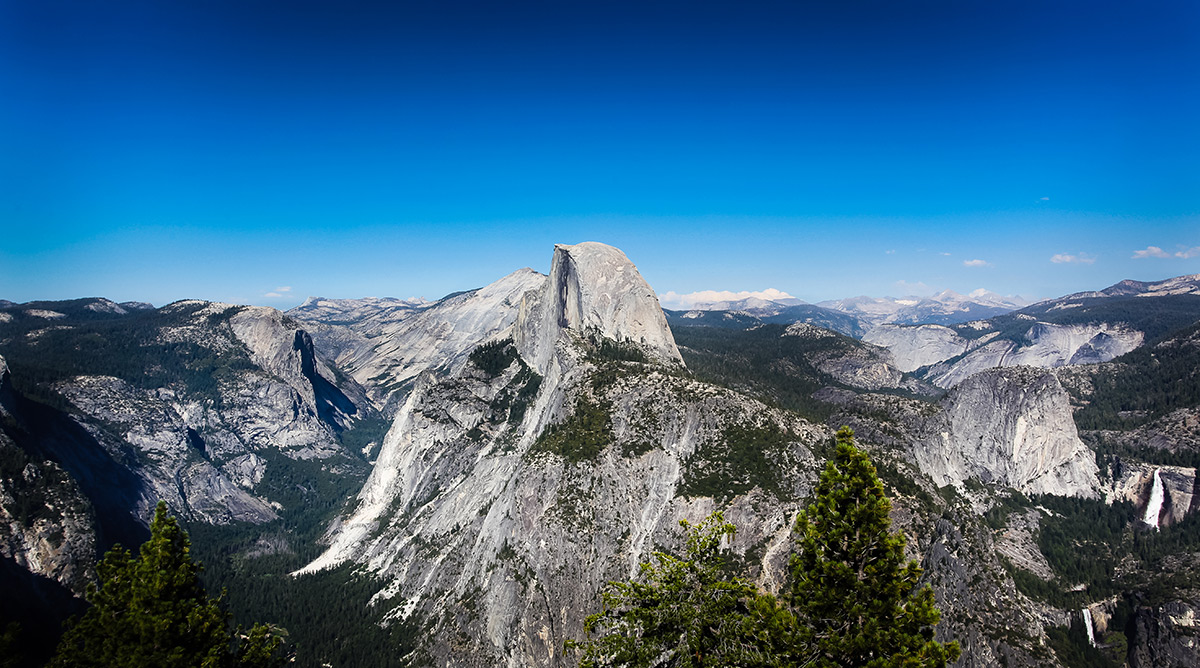 The Sky Over Half Dome